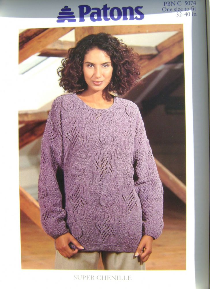 Patons Knitting Pattern 5074